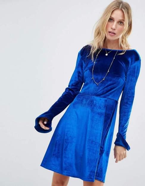 velvet dress2